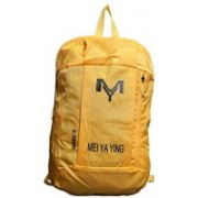 GOCART Men And Woman Outdoor Hiking Sports Backpacks Mountaineering Bag Mini Students Small Bag 20 L Backpack(Yellow)