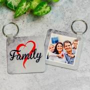 Fényképes kulcstartó - Family