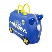 Trunki Valigia cavalcabile per Bambini - Percy the Police Car