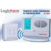 Termostat de ambient fara fir LOGICTHERM C7RF programabil