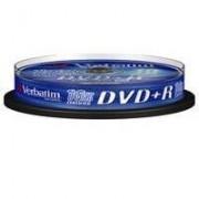 Verbatim DVD+R Verbatim 4.7GB 16X 10-pack Spindel