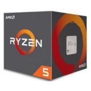 CPU AMD Ryzen 5-1500X (3.5GHz do 3.7GHz, 18MB (2MB+16MB), C/T: 4/8, AM4, cooler, 65W), 36mj