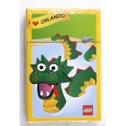 Lego I Love Orlando Loch Ness Monster Poker Size Playing Cards