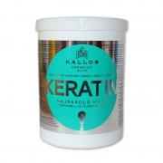 Masca tratament par Kallos Keratin 1000 ml