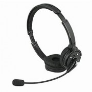 Topnisus Professional Wireless Bluetooth Headphone with Mic for Trucker Customer Services Staff Hands Free with Answer End Refuse Call Redial Function (TN-M20)