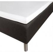 Borg Design Kuvertlakan - 100% Bomullssatin - Vit - 200x200x8 cm
