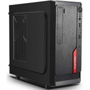 Carcasa Segotep AND mini Black/Red 350W PSU