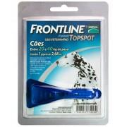 FRONTLINE TOPSPOT CÃO G (Entre 20 e 40 kg de peso) - 2,68ml
