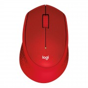 Logitech M330 RF Wireless Mechanical 1000DPI Right-hand Red mice