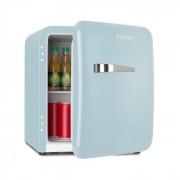 Klarstein Audrey Mini, frigider retro, 48 l, 2 niveluri, A+, albastru (HEA13-Audreys-B)