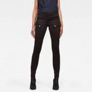 G-star RAW Femmes Pantalon Blossite Army Ultra High Skinny Noir