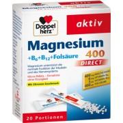 Queisser Pharma GmbH & Co. KG DOPPELHERZ Magnesium+B Vitamine DIRECT Pellets 20 St