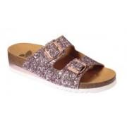 Dr.Scholl'S Div.Footwear Scarpa Glam Ss 2 Glitter W Rose Tomaia In Glitter Fodera In Microfibra Sottopiede In Microfibra Suola Eva 35