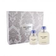 Dolce&Gabbana Light Blue Pour Homme confezione regalo Eau de Toilette 125 ml + 40 ml Eau de Toilette uomo