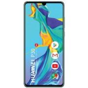"Telefon Mobil Huawei P30, Procesor Octa-Core Kirin 980, Capacitive touchscreen 6.1"", 6GB RAM, 128GB Flash, Camera Tripla 40+16+8MP, Wi-Fi, 4G, Dual SIM, Android (Aurora) + Cartela SIM Orange PrePay, 6 euro credit, 6 GB internet 4G, 2,000 minute nationale"
