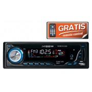 Autórádió és zenelejátszó, USB/SD/FM/AUX, 4x25W