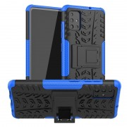 Capa Híbrida Anti-Slip para Samsung Galaxy A51 - Azul / Preto