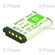 2-Power Digitalkamera Batteri Sony 3.7v 1000mAh (NP-BX1)