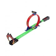 The Viyu Box Assemble 360 Hot Speed Powerful Spin Loop Way Racing Inertia Power Car with 1 Vehicles (Multicolour)