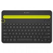 Клавиатура Logitech K480, мултифункционална, черна, Bluetooth