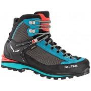 Salewa Ws Crow GTX - scarponi alta quota alpinismo - donna - Black/Blue