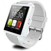 Bingo U8 White Bluetooth Smartwatch Support Android and IOS System