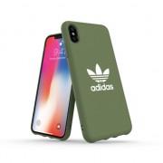 adidas Originals boîtier moulé TOILE iPhone XS Max Case - Vert