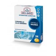 Consulteam Srl P6 Nausea Control Sea Band Caramelle Antinausea Viaggio Allo Zenzero 24 Pezzi