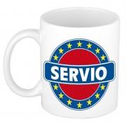 Shoppartners Voornaam Serviokoffie/thee mok of beker