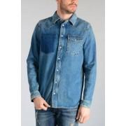 Valentino Camicia In Jeans Con Borchie Primavera-Estate Art. 88462