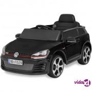 vidaXL Autić VW Golf GTI 7 crni 12 V s daljinskim upravljačem