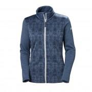 Helly Hansen Womens Graphic Fleece Jacket Blue XL