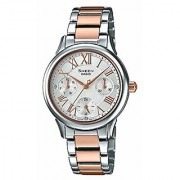 Casio Sheen Analog Silver Dial Womens Watch-SHE-3049SPG-7AUDR (SX190)
