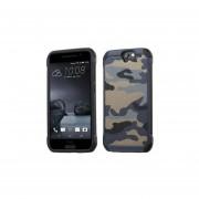 Funda Protector Uso Rudo HTC One A9 Camuflaje Gris