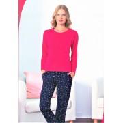 """Дамска пижама """"Pink Element's"""" - Памук и Ликра"""