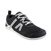 Xero Shoes Prio Zapatillas de Running para Hombre, Estilo Minimalista, con Suela descalza y Calzado, para Fitness, Atletismo, Negro/Blanco, 8.5 US