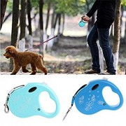 Tradico® 10Ft Pet Dog Cat Puppy Traction Rope Walking Lead Leash Automatic Retractable
