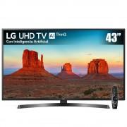LG Pantalla LED LG 43 Pulgadas UHD Smart 43UK6250 + Magic Control Remote