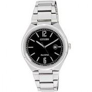 Citizen Eco-Drive Analog Black Dial Mens Watch - Aw1370-51E