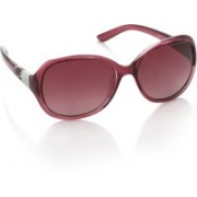 IDEE Over-sized Sunglasses(Violet)