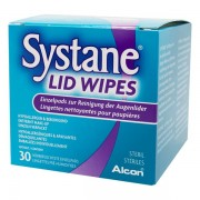 Alcon SYSTANE Lid Wipes 30 pièces