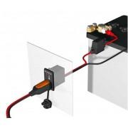 CTEK paneles töltő csatlakozó LED kijelzővel M8 1,5m