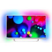 Televizor LED 123 cm Philips 49PUS6482 4K UHD Smart Tv Android Bonus Cablu SBOX HDMI 3m