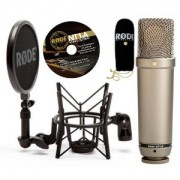 Rode - NT1-A Studio Cardiod Condenser Mic Package