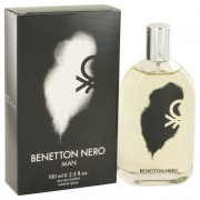 Benetton Nero Eau De Toilette Spray 3.3 oz / 97.6 mL Fragrance 501376
