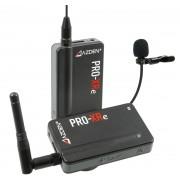 AZDEN Microfone Pro-Xre Sem Fio Compact 2.4 Ghz Alcance 150m (New)