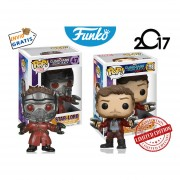 Set 2 Star Lord Funko Pop Guardianes De La Galaxia Edicion Limitada Pelicula
