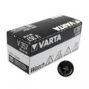 Baterie de ceas Varta V357 SR44 AG13 LR 44 Silver Oxide 1.55V 0 Mercur blister 1 set 10 baterii