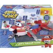 Super Wings JETT`s Takeoff Tower Transformer