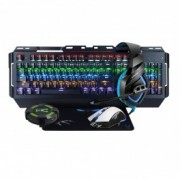 KIT GAMING WOXTER STINGER ELITE TECLADO MECÁNICO - RATÓN - MOUSEPAD - AURICULARES - HUB - Inside-Pc